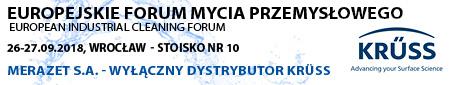 Europejskie Forum Mycia Przemysłowego 26-27.09.2018r., Wrocław