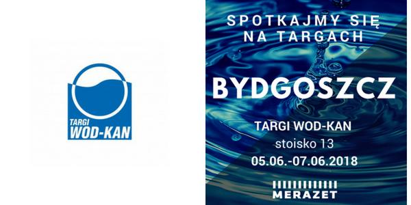 Merazet na Targach WOD-KAN 5-7 czerwca 2018 r.